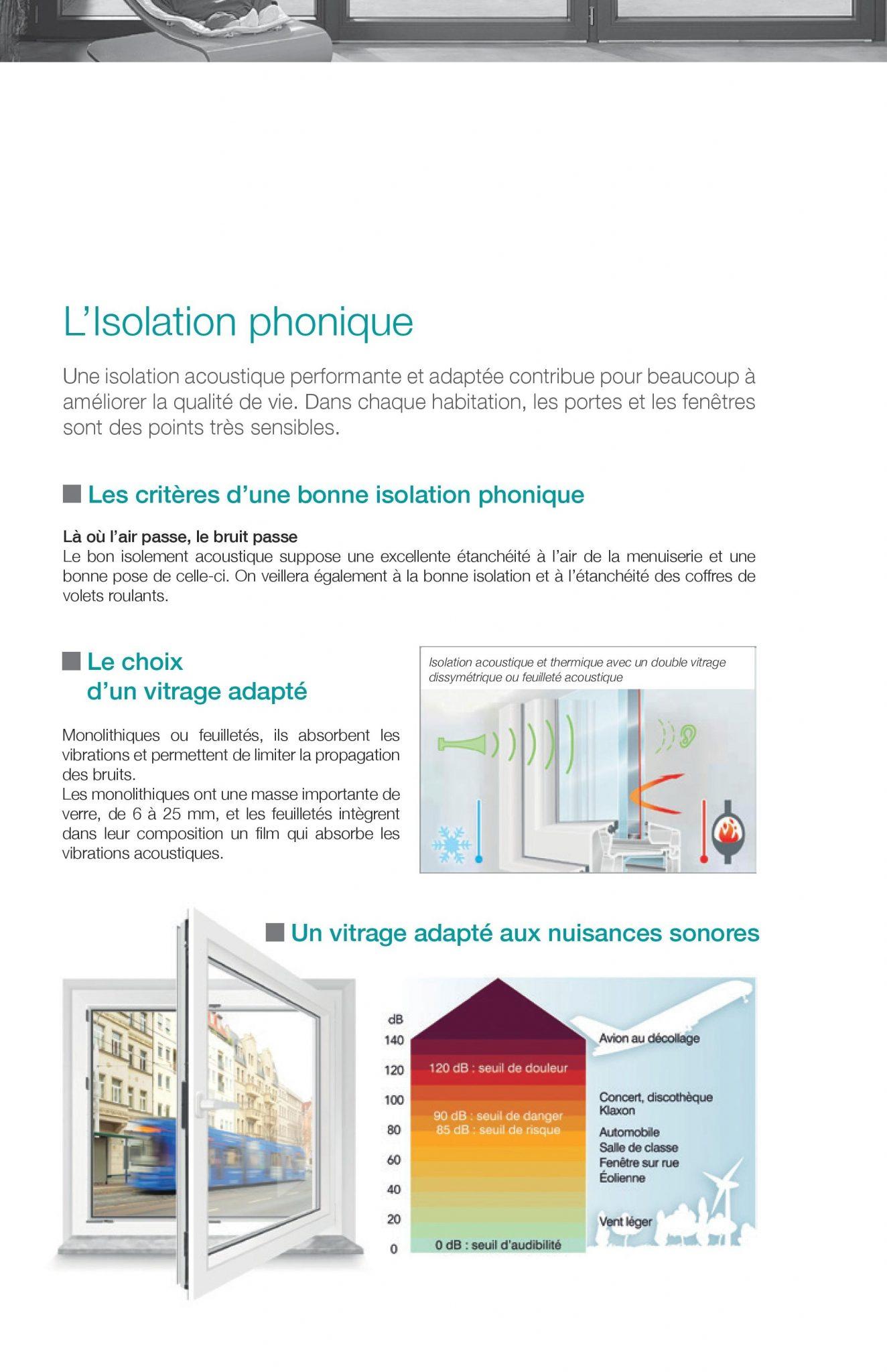 l'isolation phonique