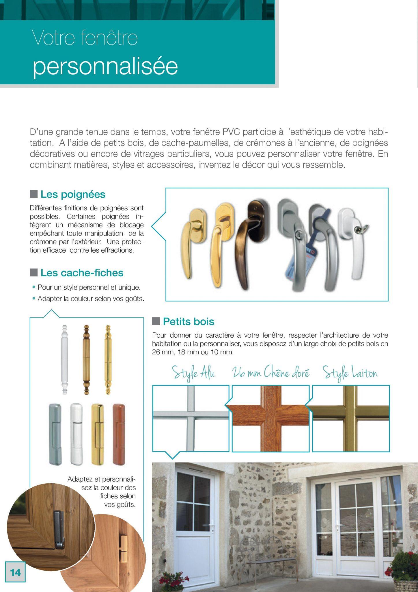 Fenêtres Clément PVC personnalisée