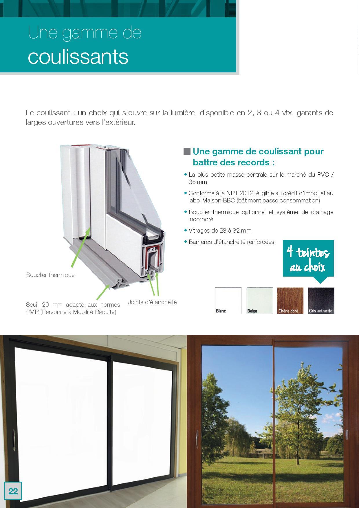 Coulissant Clément PVC