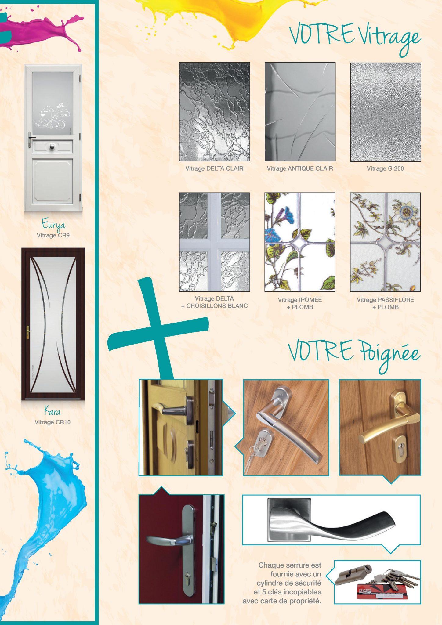 Portes Clément PVC